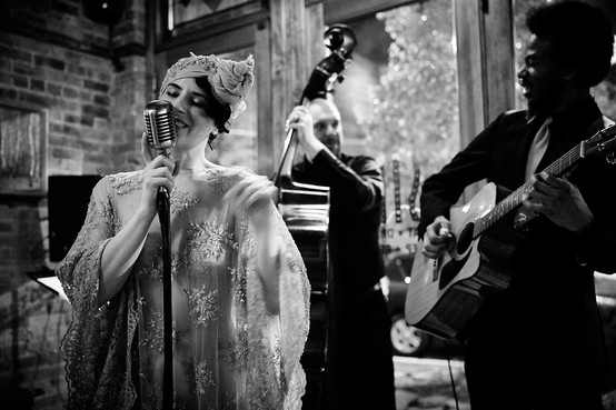 Brooklyn Britches and The Whispers for SIP After Dark *photo by Mélanie Bert *gown by Gibeon Tolbert