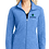 Thumbnail: Port Authority Ladies Heather Microfleece Full-Zip Jacket