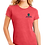 Thumbnail: District Made Ladies Perfect Triblend Crew Tee