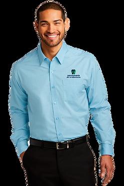 Port Authority Micro Tattersall Easy Care Shirt