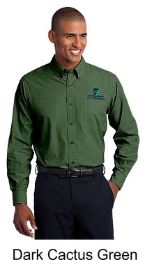 Men's Crosshatch Easy Care Shirt