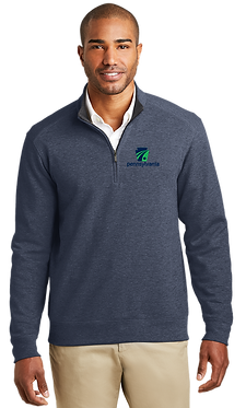 Port Authority Interlock 1/4 Zip Pullover
