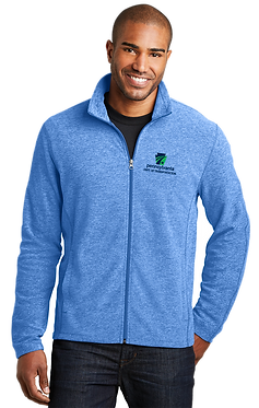 Men's Heather Microfleece Full-Zip