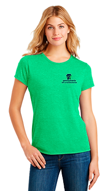 District Made Ladies Perfect Triblend Crew Tee