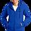 Thumbnail: Fan Favorite Full-Zip Fleece Hooded Sweatshirt