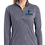 Thumbnail: Ladies PosiCharge Tri-Blend Wicking 1/4-Zip Pullover