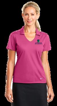Ladies Nike Golf Dri-FIT Vertical Mesh Polo