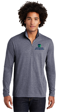 Men's PosiCharge Tri-Blend Wicking 1/4-Zip Pullover