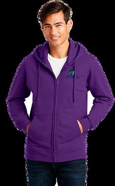 Fan Favorite Full-Zip Fleece Hooded Sweatshirt