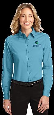 Ladies Easy Care Long Sleeve Shirt