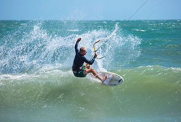 Advanced kitesurfing course