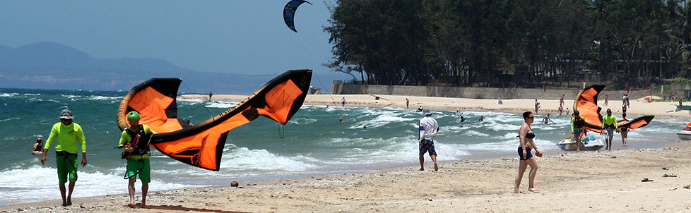 Kitesurf lessons in Mui Ne