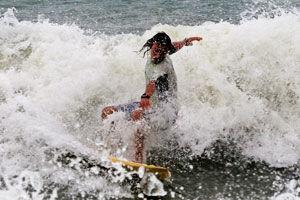 practice surfing