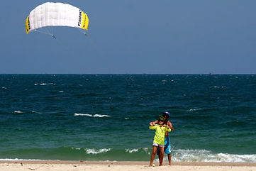 Introductory kitesurf