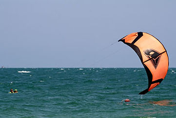 Beginner kitesurfing course
