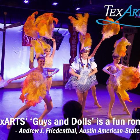 Guys and Dolls, TexArts