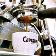 professional espresso shot