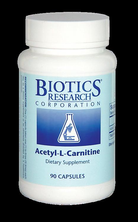 Biotics Research, Acetyl-L-Carnitine (90c)