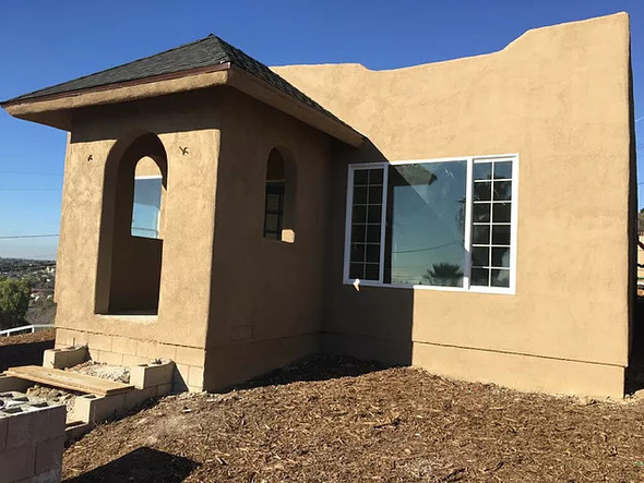 Carleton property moved and set at a new location in Spring Valley CA .