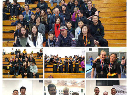 UC Berkeley Chinese Martial Arts Tournament 2018