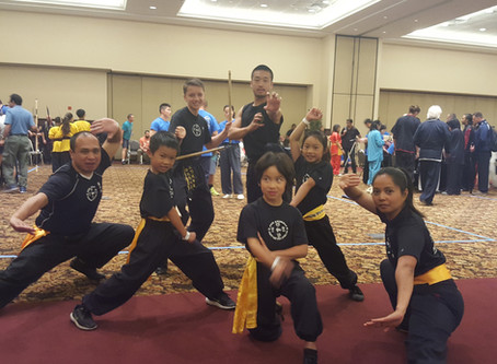 Five Animals Kung Fu Team competes in Las Vegas!