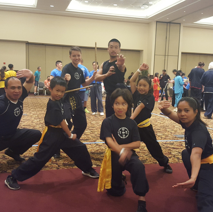 Five Animals Kung Fu Competition Tea