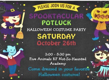 Spooktacular Halloween Potluck Party!