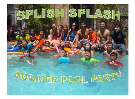 Annual Summer Pool Party!