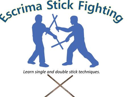 New Seminar: Escrima Stick Fighting
