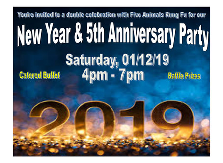 2019 New Year & 5th Anniversary Party!