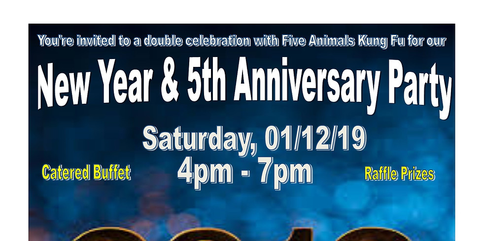 New Year & 5th Anniversary Party!