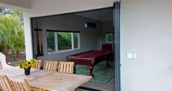 Frameless Folding Doors