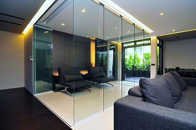 Premier folding doors Interior