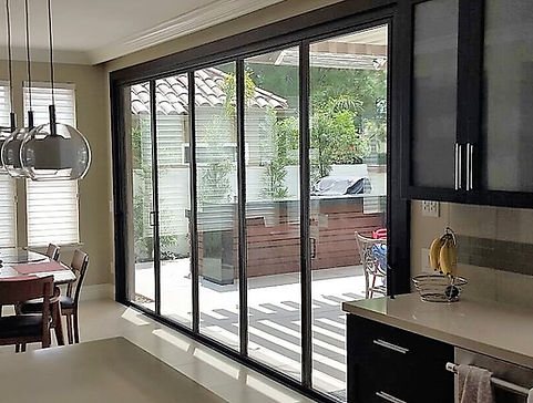 Ultra Slim Folding Doors, folding patio doors, folding doors, bifolding doors