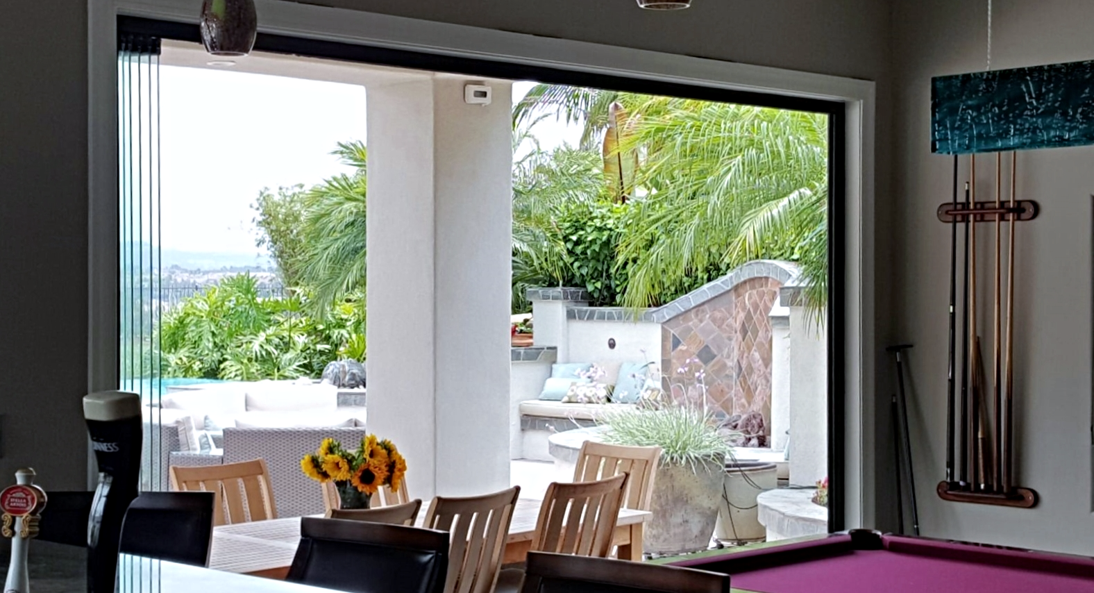 Frameless Folding Doors