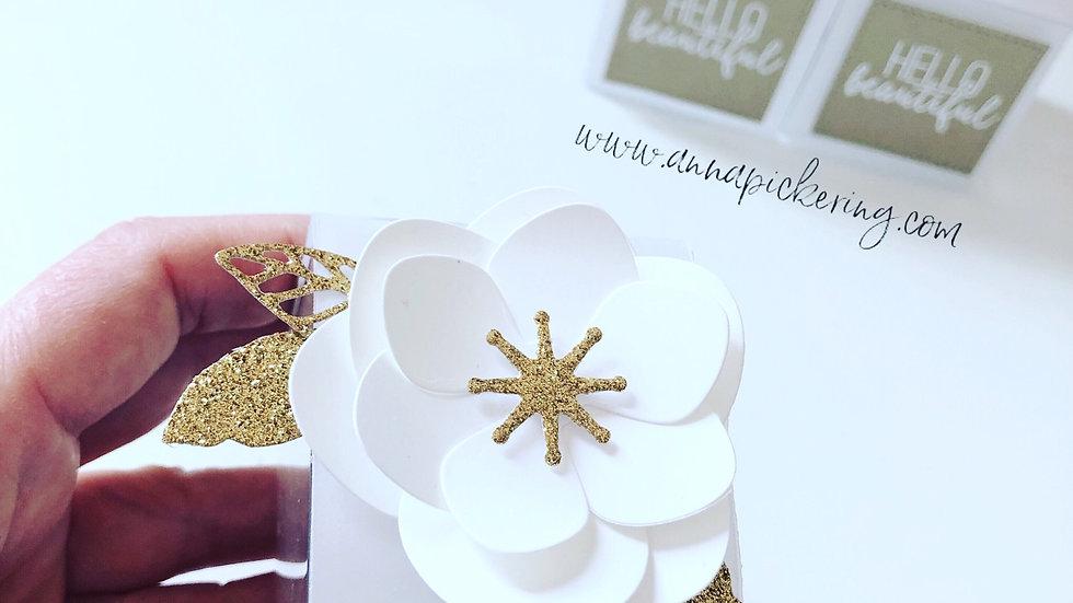 Favour Boxes. Floral Design