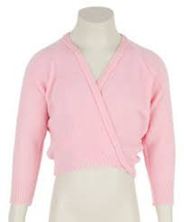 Wrapover Cardigan in Pink