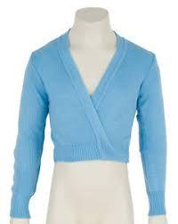 Blue Cardigan warm wrap