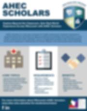 AHEC Scholars flyer.png