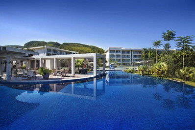 Fachada Hotel Cristal Resort - Rio Quent