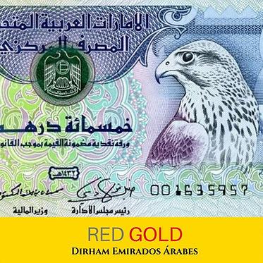 Dirham Emirados Arabes - Red Gold Câmbio
