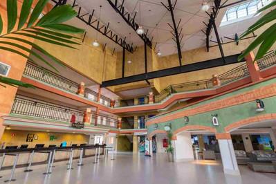 Lobby Hotel Giardino Suítes - Rio Quente