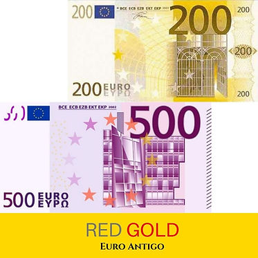 Compra de Cédulas Antigas de 500 Euros e
