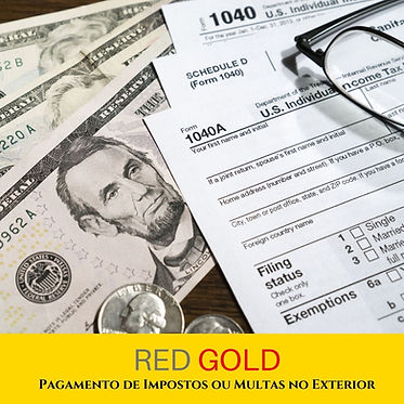Pagamento de Impostos ou Multas no Exter