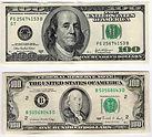 dolar com cedula antigas continum seno válidas normalmente cedula cara pequena, carinha, cedulas geração anterior do dólar