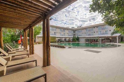 Fachada Hotel Turismo 9 - Rio Quente Res