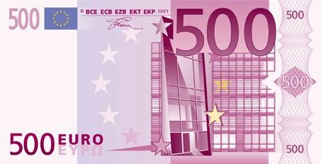 Como trocar cédulas antigas de 200 ou 500 euros, ou cédulas atuais de 200 euros em reais.