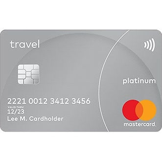 red gold mastercard platinum travel pre