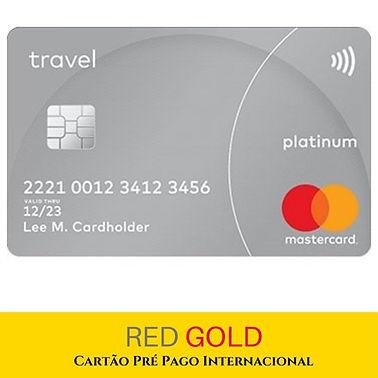 Cartão Pré Pago Internacional 2 - Red Go