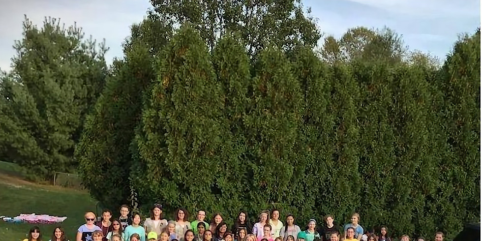 Hopewell Valley Girl Scouts Camp Out